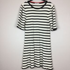 Zara Knit Striped Dress